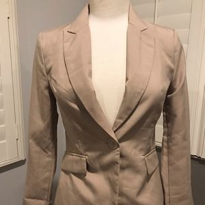 Ambiance Jackets & Coats Blazers Suit Brown Tan S